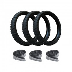 3 Tires and 3 Inner tubes...