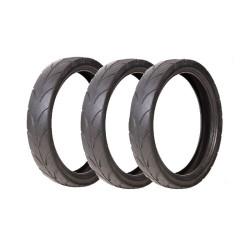 3 pneus para carrinhos de...