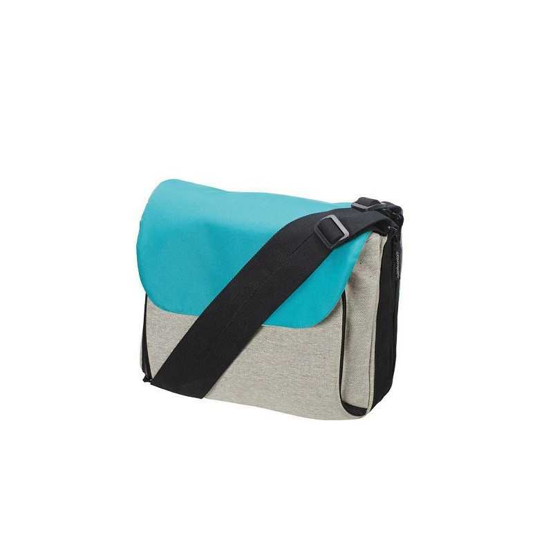 Blaue Flexi-Tasche