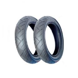 2 pneus para carrinho de...