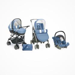 Trio 3 em 1 Stroller Cam...