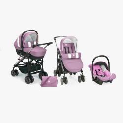 Trio 3 in 1 Cam Tris Violet...