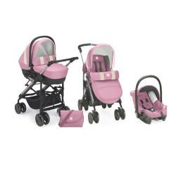 Cam Pink 3 in 1 Stroller Trio