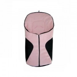 Schwarzer und rosa Fußsack...