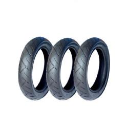 3 pneus de carrinho Everest...